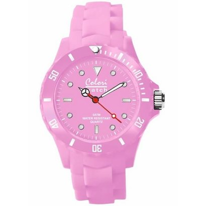 Colori Colori horloge classic roze