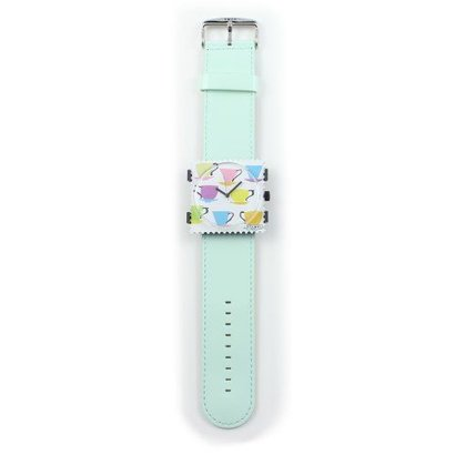 Stamps Stamps Polsband Floral mint groen