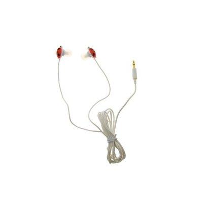 Oortelefoon Lieveheersbeestje geschikt voor MP3, telefoon, Ipod, enz.