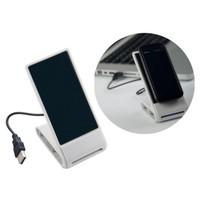 USB hub met houder voor je mobiel