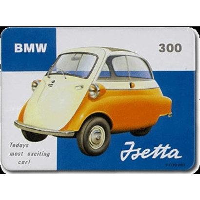 Magneet BMW 300 metaal 55x75mm