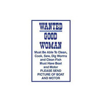Magneet Wanted Good Woman
