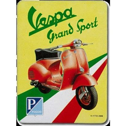 Magneet Vespa Grand sport metaal 55x75mm