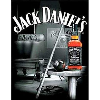 Plaquet Jack Daniel's 30x41cm metaal