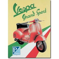 Plaquet Vespa Grand Sport