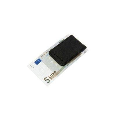 Geldklem zwart 7x4,5cm.