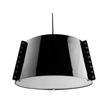 Leitmotiv Trendy hanglamp uitgevoerd in zwart