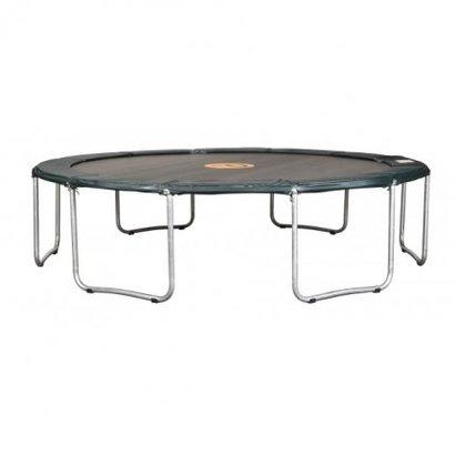 Avyna Een standaard trampoline met een zéér goede prijs/kwaliteit verhouding.Doorsnee 430cm en 90cm hoog.
