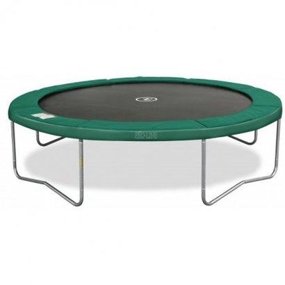 Avyna Top kwaliteit trampoline, die zeer veilig is en onderhoudsvriendelijk.Doorsnee 430cm en hoogte 89cm
