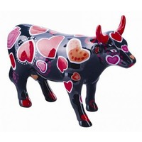Cowparade Cowparade Medium Ceramic Coo-Ween of Hearts