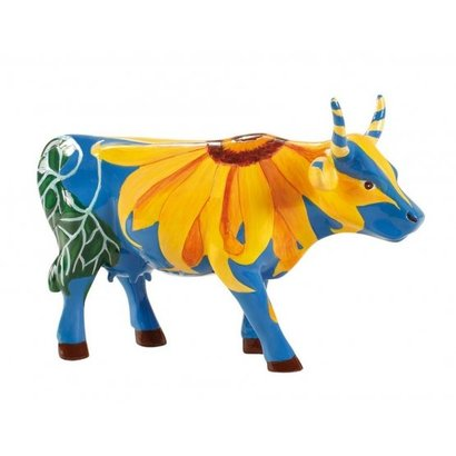 Cowparade Cowparade Medium Resin Udderly Sunflowers