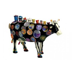 Cowparade Medium Resin The Moo Potter