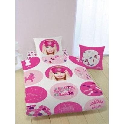 Dekbed Barbie cirkels: 140x200 cm