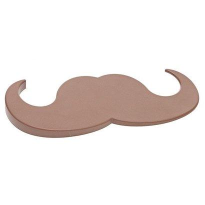 Deurstopper 'Moustache' bruin
