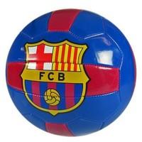 Bal barcelona leer groot blauw/rood
