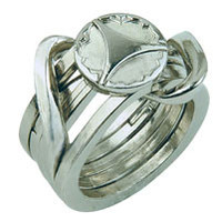 Eureka Cast puzzel Ring II*****