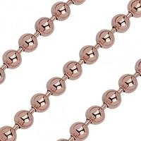 Quoins Quoins armband rosé QK-S2-R met slot 19cm