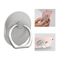Mobiele telefoon houder tablet standaard Style ring vinger ring beugel mat zilver