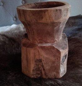 Kandelaar hout 2 L