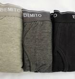 Open Boxershort Bemito set van 3