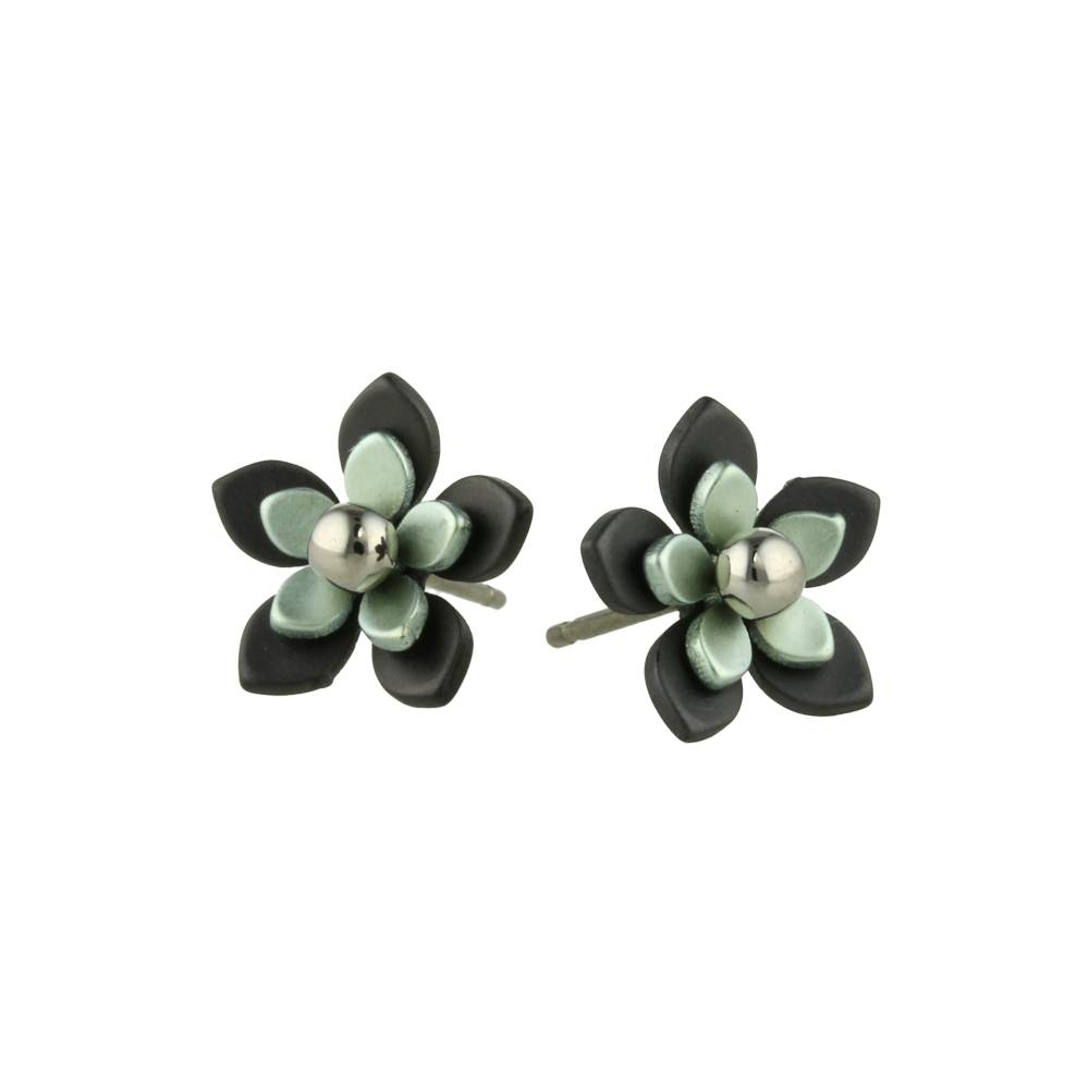 Naisz Titanium Design Flowers Black 2017349-40