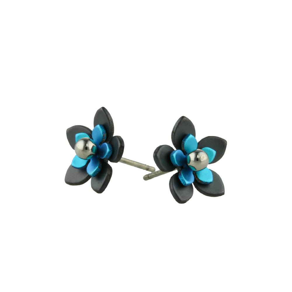Naisz Titanium Design Flowers Black 2017349-80