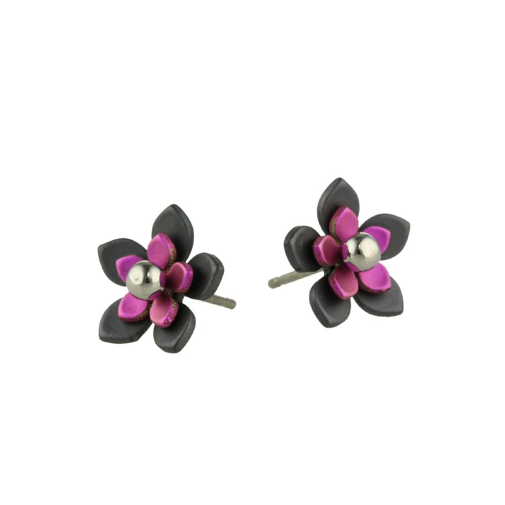 Naisz Titanium Design Flowers Black 2017349-63
