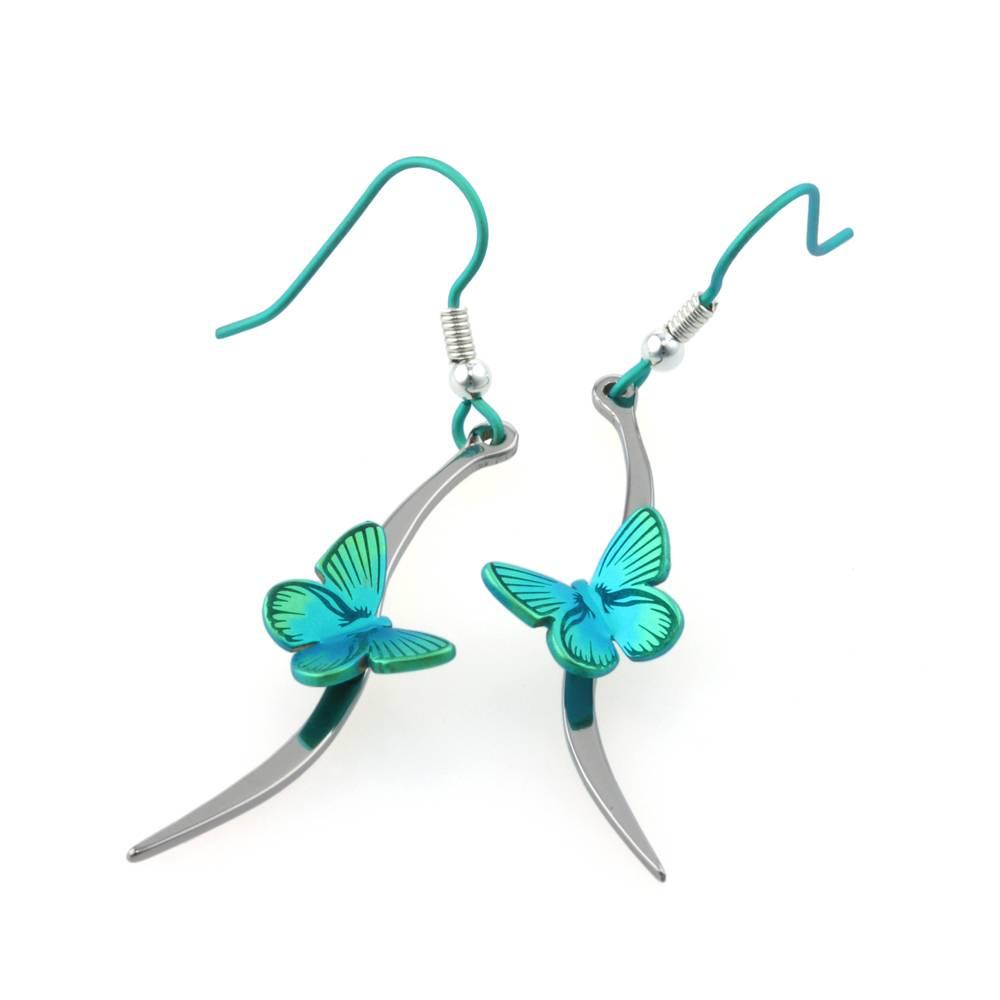 Titanium Design Butterfly 2017479-Green