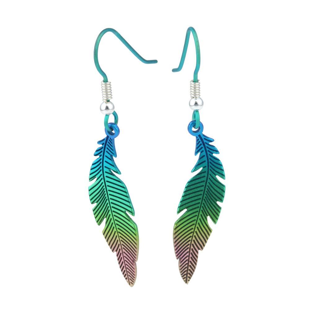 Naisz Titanium Design Feather 2017473-GREEN