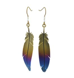 Titanium Design Feather 2017472-Brown-Blue