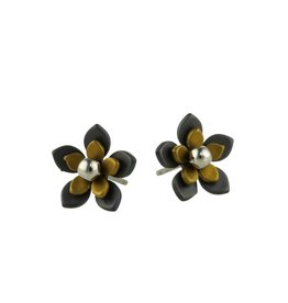 Titanium Design Flowers Black 2017349-52