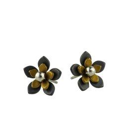 Titanium Design Flowers Black 2017349-52