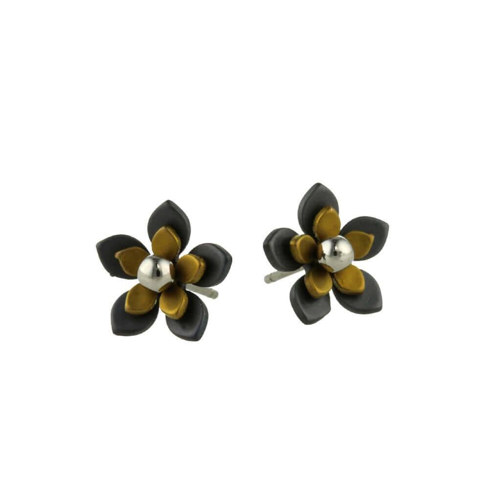 Naisz Titanium Design Flowers Black 2017349-52