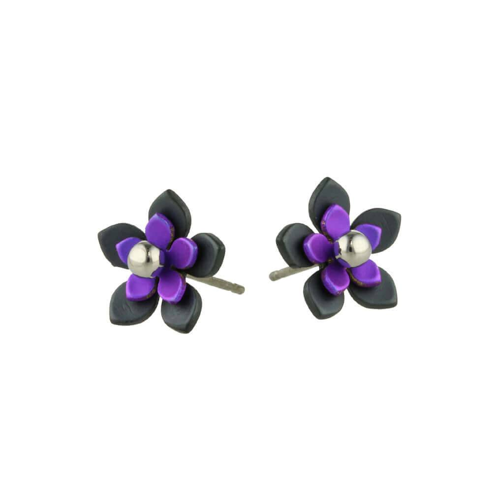 Titanium Design Flowers Black 2017349-72