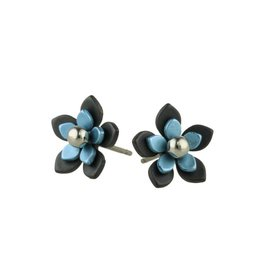 Titanium Design Flowers Black 2017349-30