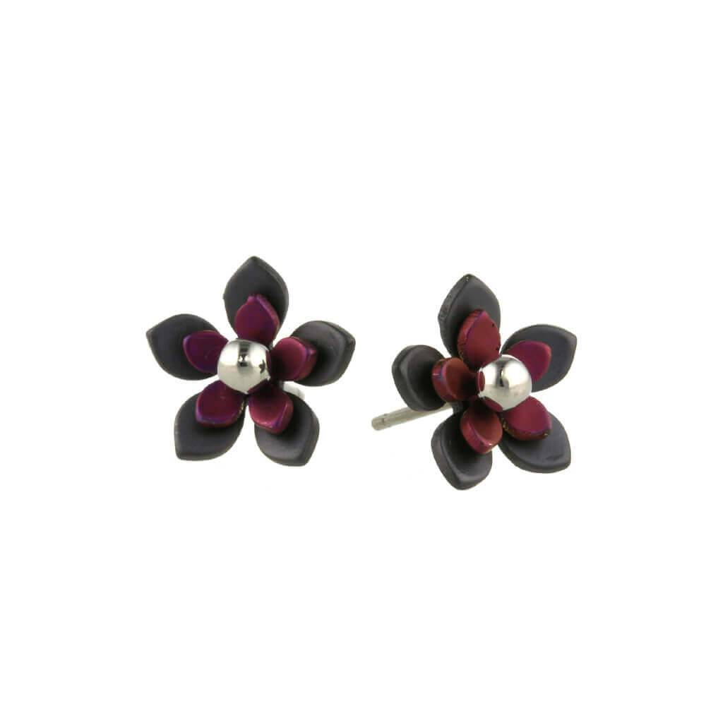 Naisz Titanium Design Flowers Black 2017349-63 - Copy - Copy - Copy - Copy - Copy