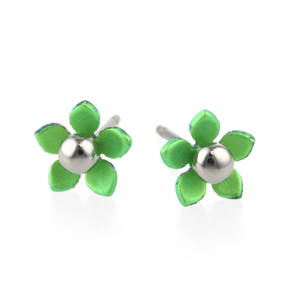 Titanium Design Flowers 5  Green 2017356-90