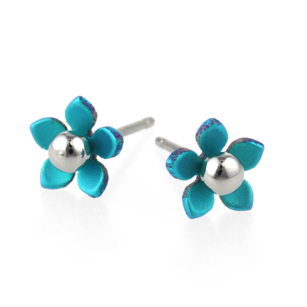 Titanium Design Flowers 5  Lblue 2017356-30
