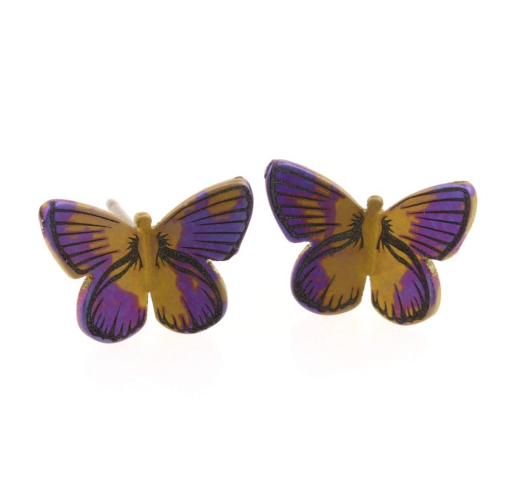 Naisz Titanium Design Butterfly M Blue 2017382 - Copy - Copy