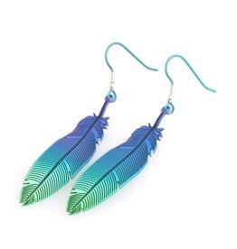Titanium Design Feather 2017472-Brown-Blue - Copy