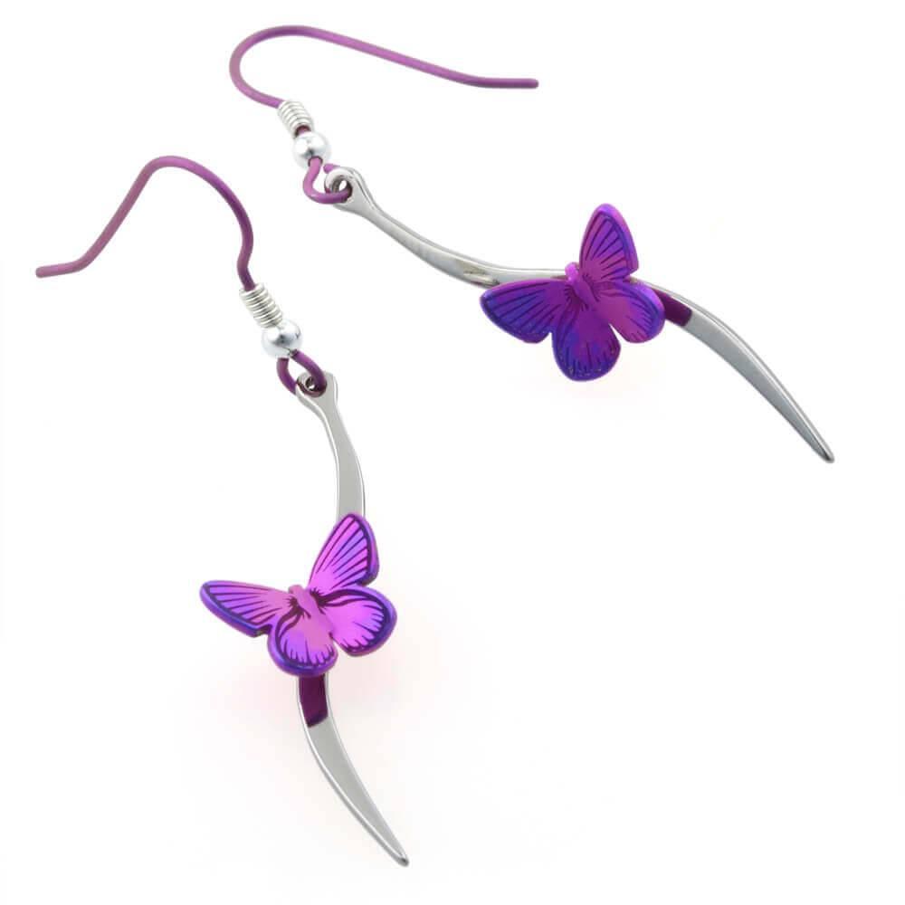 Naisz Titanium Design Butterfly 2017479-Pink