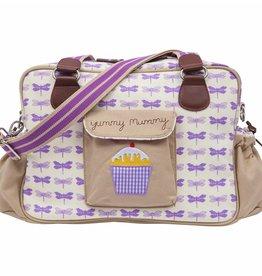 Pink Lining Yummy Mummy - Purple Dragonflies