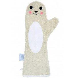 Baby Shower Glove beige - zeehond