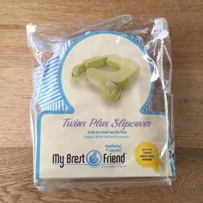 My Brest Friend Reservehoes blauw/wit gestreept (tweeling formaat)