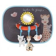 Sophie de Giraf 2 Sophie zonneschermen met activiteitenboog