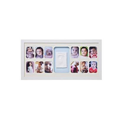 Baby Memory Prints 12 maandenlijst wit