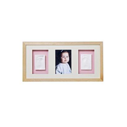 Baby Memory Prints Fotolijst trio naturel