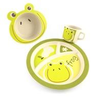 Pure Kids Bamboe Kinderservies - Kikker