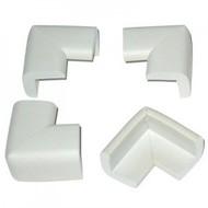Foam tafelhoekjes wit (4 stuks)