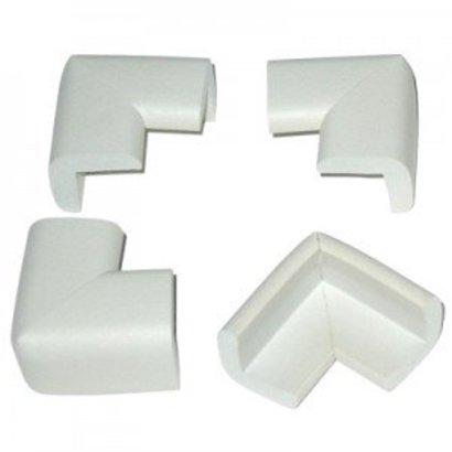 Jippie's - Foam tafelhoekjes wit (4 stuks)